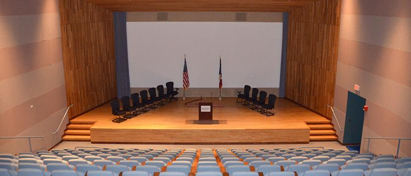 Auditorium at the State Historical Building