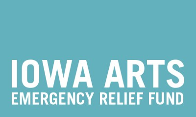 Iowa Arts and Culture Emergency Relief Fund Graphic