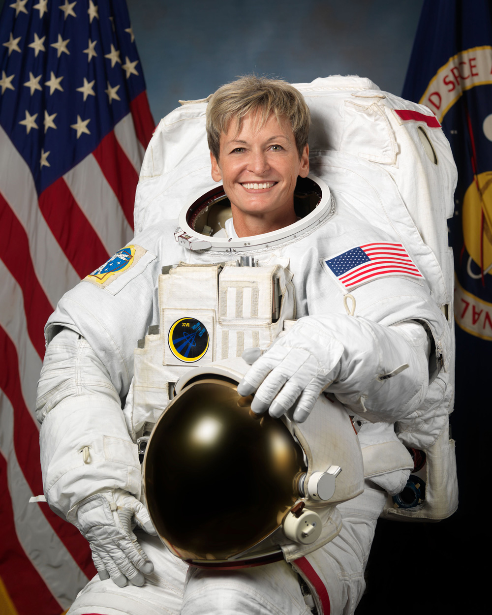 Iowa Astronaut Peggy Whitson, 2017