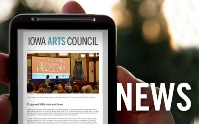 Sign up for the Iowa Arts E-Newsletter