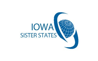Three page text document, with a few photos, telling about the Iowa Sister States organization in general and then ISS's global connections and student exchanges.
