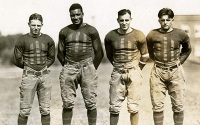 Dorothy  Schwieder, Professor Emerati of History at Iowa State University, wrote about the life of Jack Trice, who in 1923, was the only African American member of the Iowa State College football team.  During the second game of the season, he sustained injuries that later led to his death.