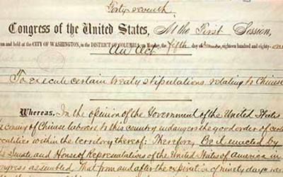 Transcript of a treaty between the United States and China.