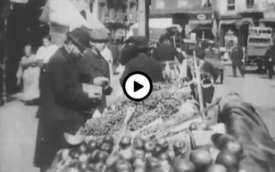 Silent film that shows the treatment of immigrants by police in New York..