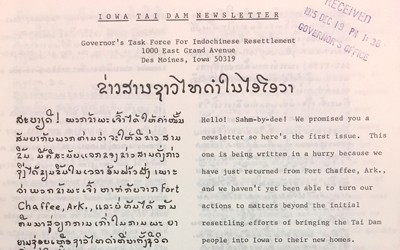Newsletter for Indochinese immigrants.