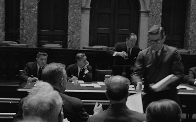"""Republican Senators During a Meeting on Amendments to the Civil Rights Act,"" May 20, 1964"