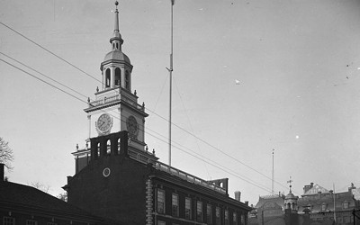 Independence Hall in Philadelphia, Pennsylvania, ca. 1900