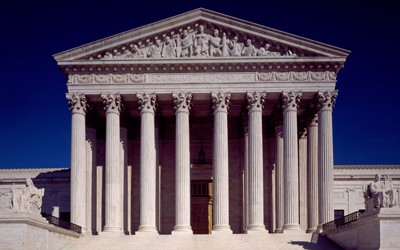Supreme Court Building in Washington, D.C., ca. 1980