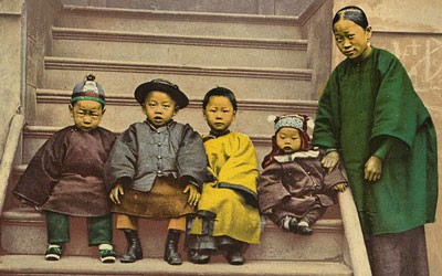 A Chinese Family, between 1898 and 1905