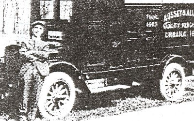 Aossey Family Delivery Truck, Date Unknown