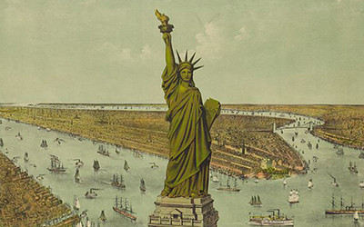The Great Bartholdi Statue, Liberty Enlightening the World: The Gift of France to the American People, 1885