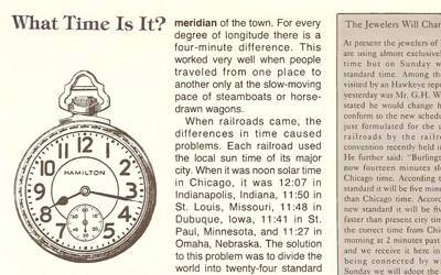 """""""What Time Is It?"""" Essay from The Goldfinch, November 1983"""