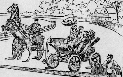 """The Marvelous Vogue of the Automobile,"" August 24, 1899"