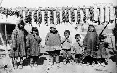 Far North image of Native Americans.