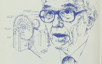 "1984 article from ""The Palimpest"" about the invention of the Electronic Digital Computer by John Vincent Atanasoff and Clifford Berry"