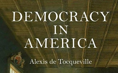 Democracy in America is a book written by Alexis de Toqueville in 1835 to give his observations on the state of government and politics in the young United States.