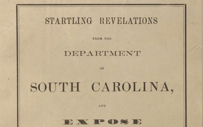 "In an 1864 article written for ""Anglo-American"" magazine, Dr. Thomas P. Knox, who was hired as a doctor to treat freed slaves in South Carolina, is critical of the National Freedmen's Relief Association, which was designed to assist newly emancipated former slaves across the South."