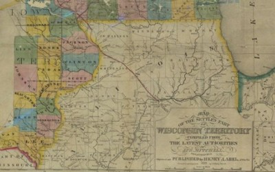 In 1838, the Territory of Wisconsin included land that would become the State of Iowa.