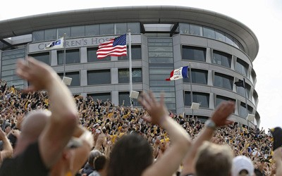 Newspaper Article about the Iowa Hawkeyes' Wave of Support, September 5, 2017
