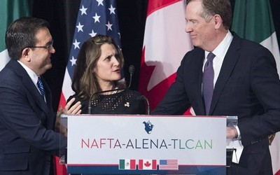 Des Moines Register article highlighting why NAFTA is a critical trade deal for Iowa farmers and businesses.