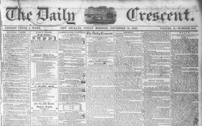 This newspaper article from 1849 highlights the growth of the Erie Canal in the 1840s in terms of shipping and money added to the economy