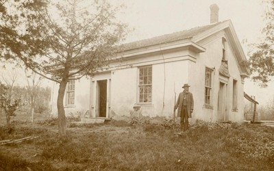 William Maxson home, an Underground Railroad station where abolitionist John Brown trained with his men for the raid on Harpers Ferry