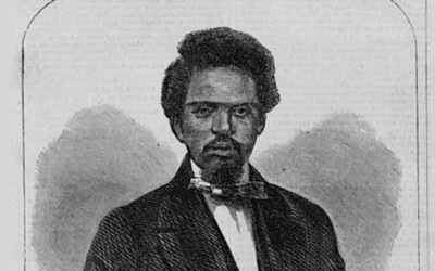 An article describing the escape of Robert Smalls and several members of his family and friends from slavery by taking a Confederate ship and sailing to the north.