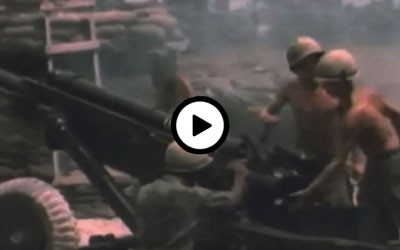 Iowa Public Television video interview with primary source footage of combat in Vietnam.