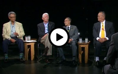 Panel discussion of US and South Vietnamese soldiers who fought in Vietnam.