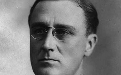 Audio and a transcript of a speech given by Franklin Roosevelt at the end of World War.