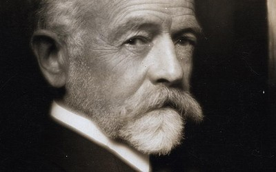 Audio and a transcript of a speech on the League of Nations by Henry Cabot Lodge.