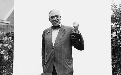 Audio and transcription of a speech given by Warren Harding at the end of World War I.