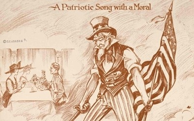 Sheet music for a song performed at the end of World War I.