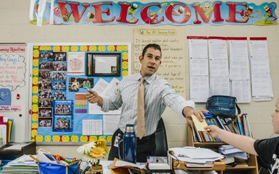 Second-Grade Teacher at Canaan Elementary in Patchogue, New York, June 18, 2015