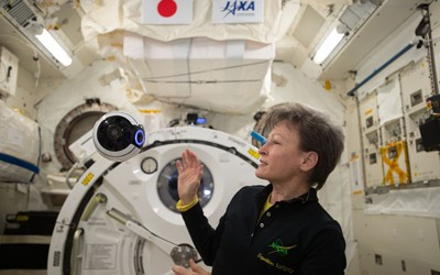 2017 interview with Peggy Whitson about her recent time on the International Space Station, and her record-setting accomplishments in her NASA career.