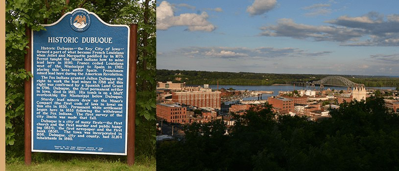 Dubuque Historic Markers