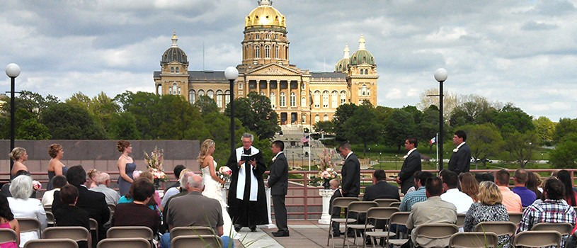 Wedding on the Cafe Terrace