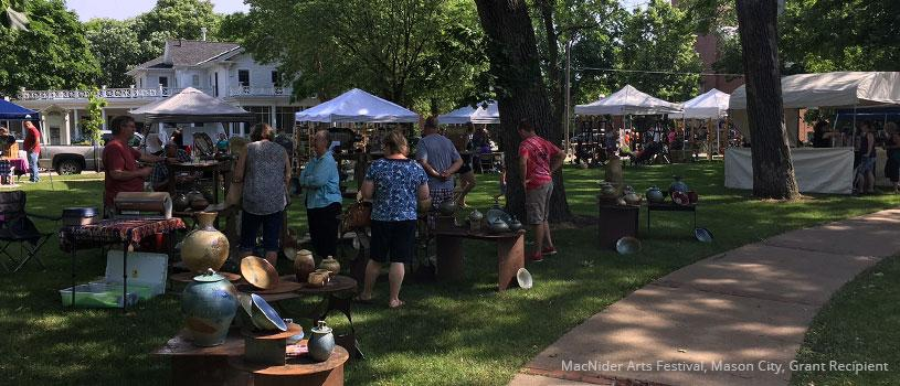 MacNider Arts Festival, Mason City, Grant Recipient