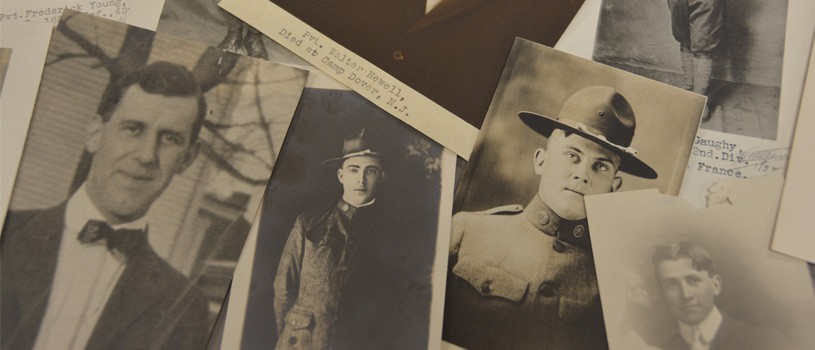Photos from the World War I Honor Roll Project