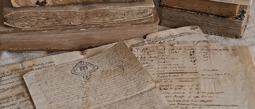 Old Handwritten historical documents