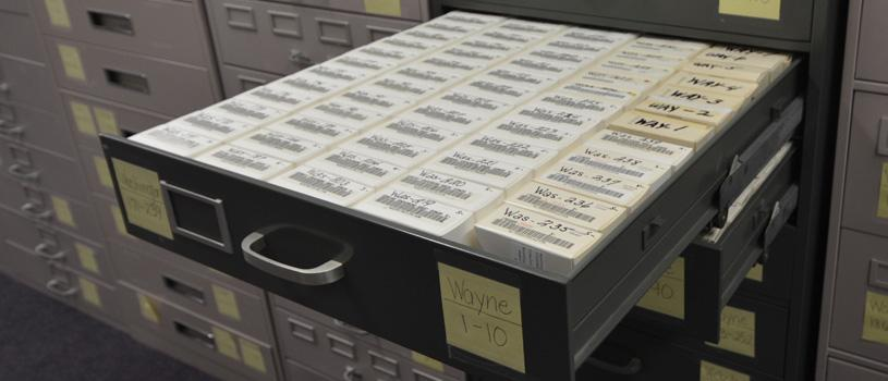 County Records on microfilm at the State Historical Research Center