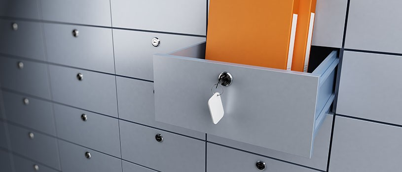 Brushed steal wide filing cabinets