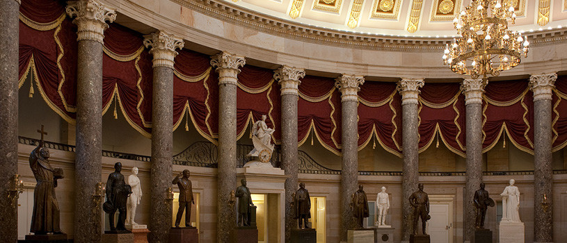 Iowa's national statuary hall collection